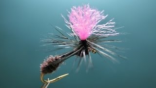 "[HD] Fly tying / Parachute Ant. パラシュートアントをフライタイイング / フライフィッシング / Fly fishing ""FlyTier"