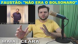 Faustão diz: Não falei do Bolsonaro / Rodrigo Maia / O caso do Ceará