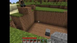 4# LAJCEPS---- Jak zrobić kopalnie odkrywkową w Minecraft