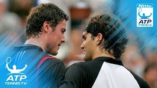 Federer vs Safin Epic Tiebreak IN FULL | ATP Finals 2004 Semi-Final