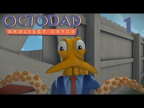 Octodad: Dadliest Catch - Прохождение pt1