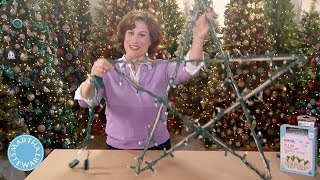 How to Create and Display Illuminated Stars - Martha Stewart