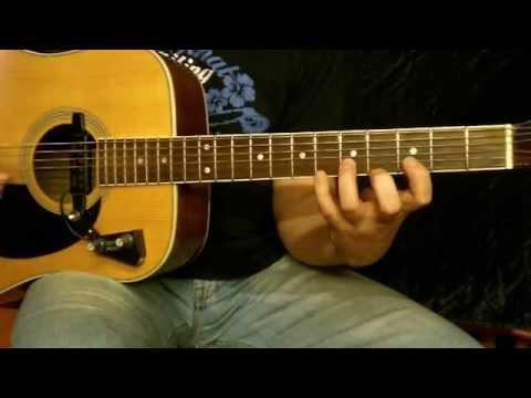 Skala Eolska Pozycja Pierwsza - Lekcje Gry Na Gitarze (www.gitarra.pl)