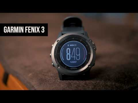 Garmin Fenix 3 Review (Smartwatch)