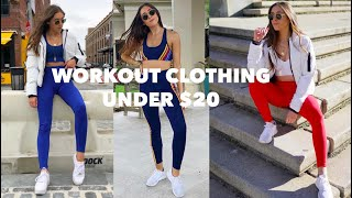 WHERE TO BUY AFFORDABLE CUTE WORKOUT CLOTHES (ALL UNDER $20)
