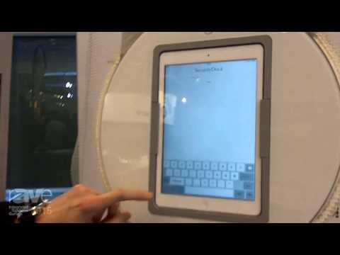 ISE 2015: Viveroo Demonstrates the Loopdock Rotating iPad Dock
