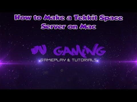 How To Make a Tekkit Space Server Mac