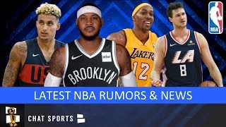 NBA Rumors On Dwight Howard To Lakers, Carmelo Anthony To Nets, Danilo Gallinari Trade & Kyle Kuzma