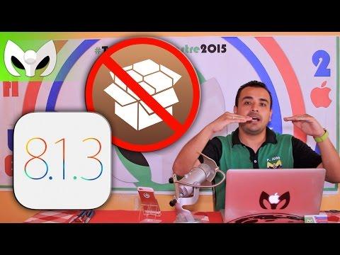 iOS 8.1.3 �Puedo hacer Jailbreak?