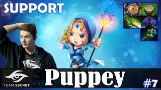 Puppey - Crystal Maiden Roaming | SUPPORT vs Dendi (QOP) | Dota 2 Pro MMR Gameplay #7