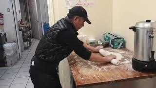 NOODLES AND DUMPLING - Prepping Scallion Pancakes!!