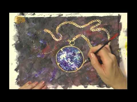 Видео как нарисовать украшения