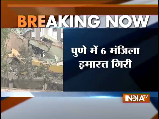 6 Floors Building Collapse in Pune, 4 Stuck in Ruins
