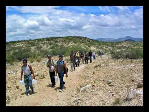 Migrantes Mexicanos Cruzando la Frontera Cruzando la Frontera Prohibida