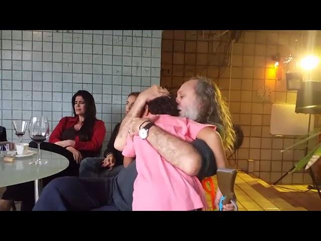 Ao vivo: Caio Fábio, Marcelo Marrom, Voz, Violão e Família! - Visita do Marrom. Parte 2