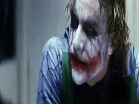 El Caballero Oscuro - Interrogatorio Joker (Español de España)