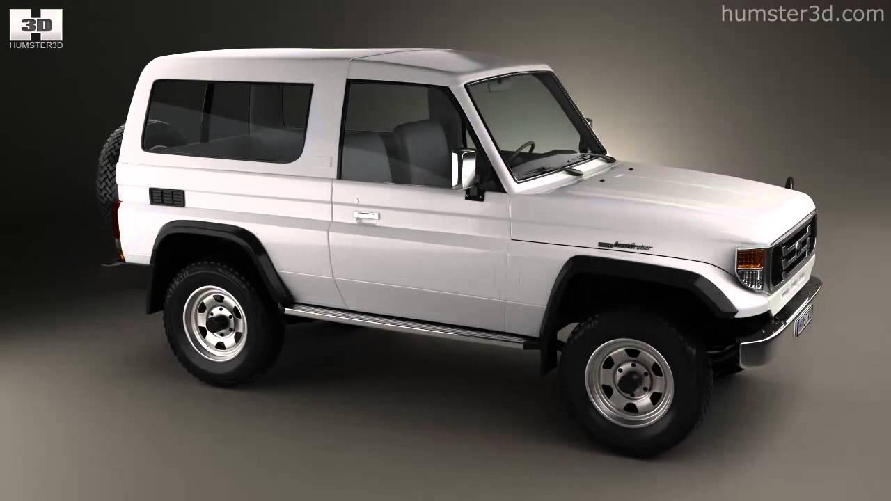 Toyota Land Cruiser J70 >> Toyota Land Cruiser (J70) 3-door 1990 - YouTube