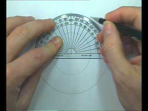 Construction of an ellipse concentric circle method
