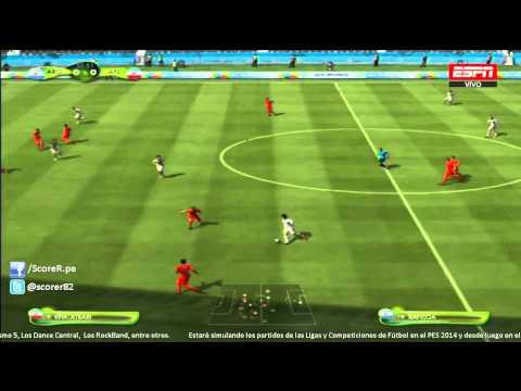 EA SPORTS 2014 FIFA WORLD CUP - Argentina vs Iran - Grupo F @ Simulacion PS3