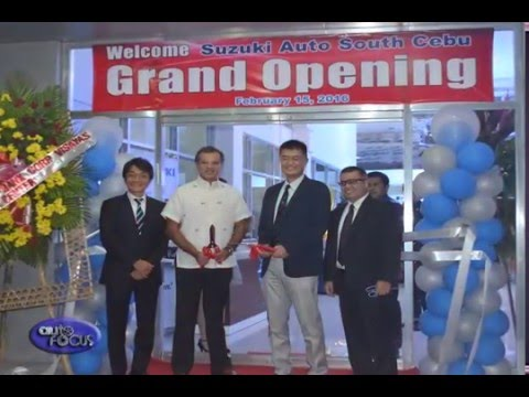 Suzuki Cebu Inauguration -  Industry News