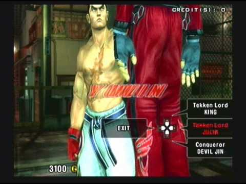 Tekken 5: Arcade Mode   Kazuya Vs Cpu (ultra Hard) Tekken Lord video