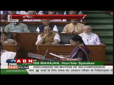 Opposition's no-confidence motion defeated in Lok Sabha | NDA gets support of 325 MPs