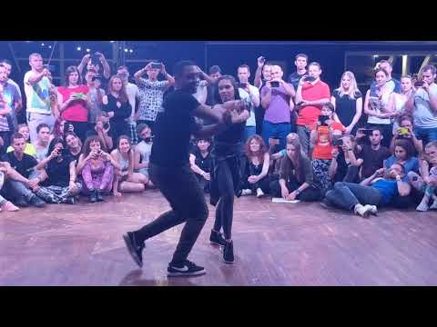 UZC2018 Workshop-2 demo with Paloma & William ~ Zouk Soul