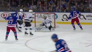 Hayes finishes off nice feed from McDonagh with wicked wrister
