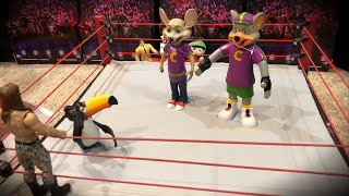 SMF Wrestling - Debut of Team Chuck E. Cheese!