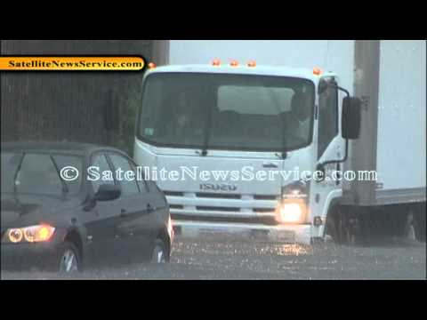 Flash Flooding in Fall River, MA (09-05-12)