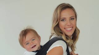 How to tie Mei-Tai sling - Back carry with toddler