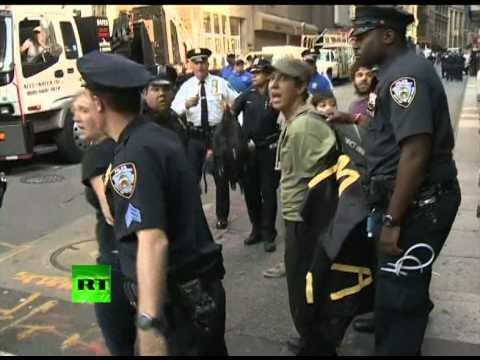 OWS video: Police attack photographer, violently arrest protesters