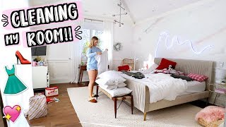 Cleaning My Room!! AlishaMarieVlogs