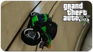 GTA 5 Online Race BIKE WALLRIDE [ HARDEST BIKE RACE ] ( 5000 RP & $31000 ) GTA V MULTIPLAYER