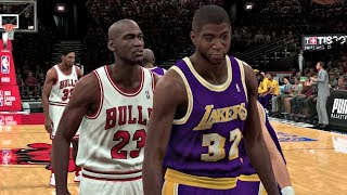 NBA 2K20 Gameplay - All-Time Chicago Bulls vs All-Time Los Angeles Lakers  – NBA 2K20 PS4