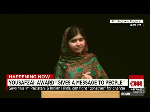 Malala Yousafzai's Nobel Prize Speech