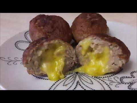 Ну,Очень вкусные мясные ЗРАЗЫ с сыром Простой РЕЦЕПТ зраз с сыром  Meat Rissoles