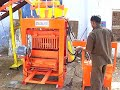 Concrete Block making machine - www.globalimpex.in