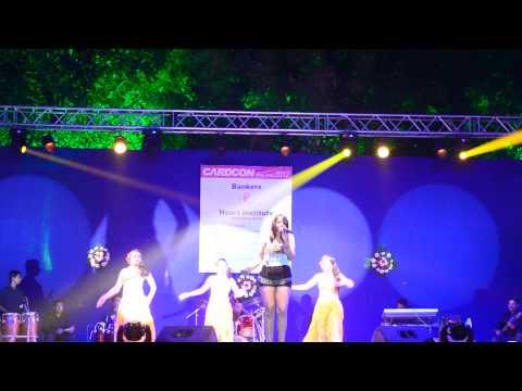 Mauli Dave singing Maiya Maiya - Baroda 18th oct 2012  !!
