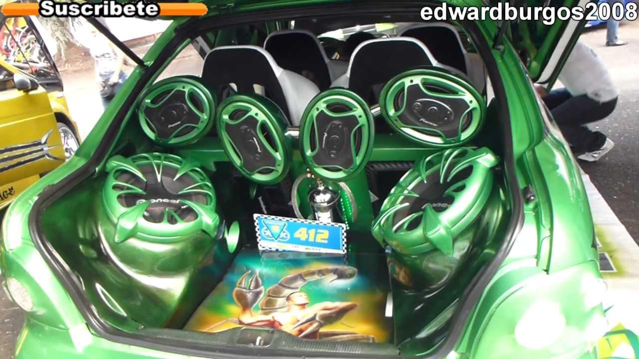 Hyundai Accent Tuning Modificado Car Audio Puertas