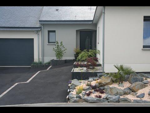 Am nagement paysager devant maison page 1 10 all - Creer une entree dans une maison ...