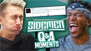 SIDEMEN: FUNNIEST Q&A MOMENTS!