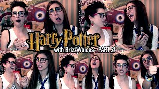 HARRY POTTER BOOKS VS MOVIES with Brizzy Voices