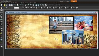 Tutorial: PaintShop Pro X5 - Create a Facebook Timeline cover collage