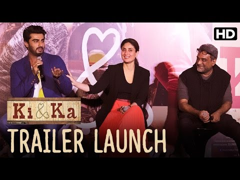 Trailer Launch Of 'Ki & Ka' With Kareena Kapoor, Arjun Kapoor & R.Balki!