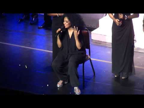 Diana Ross Live at the Golden Gate Theatre, San Francisco - Getting Personal with the Crowd