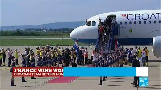 World cup 2018: Croatians celebrate football teams achievement