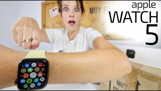 Apple Watch Series 5 unboxing -nunca DUERME-