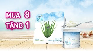 Phim quảng cáo sữa chua TH true YOGURT - Mua 8 tặng 1 - Tháng 7 2019 - 15s Add sub
