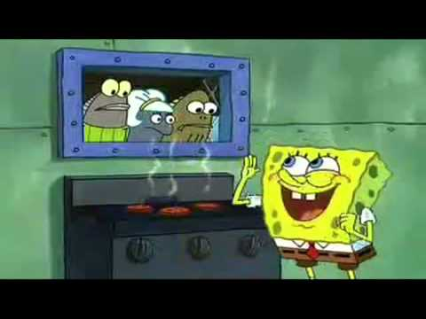 MUST WATCH!!!!!!! Spongebob sings Dynamite